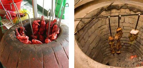 Кебаб и шашлык в тандыре