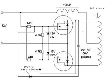 Мультивибратор на полевых транзисторах схема фото 920