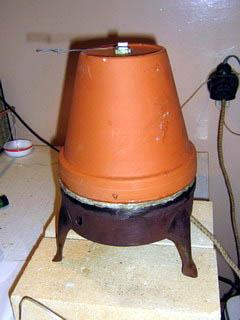 Простейшая печь для обжига керамики