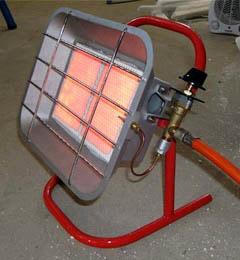 Газовая каталитическая инфракрасная печь
