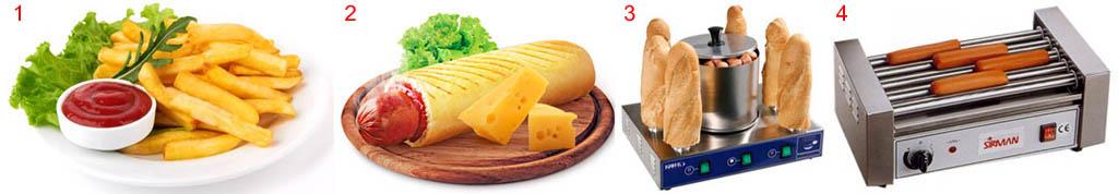 Сопутствующая шаурме пищевая продукция