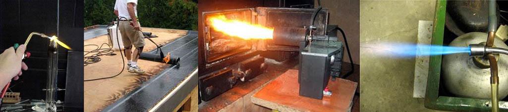 Применение газовых горелок в домашних условиях