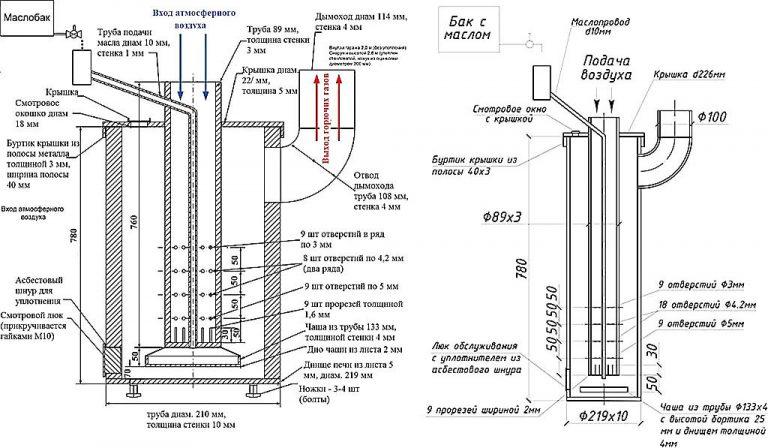 Туалет из профильной трубы на даче своими руками 65