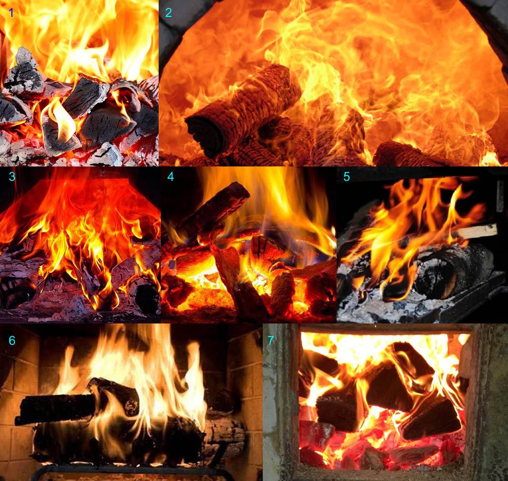 Как по виду пламени определить нарушения хода печи