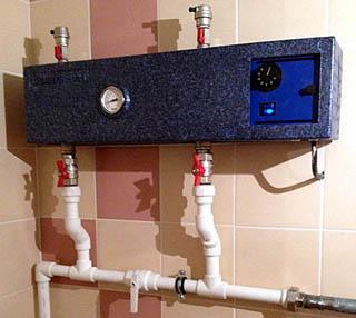 Резервный (аварийный) электрокотел для систем водяного отопления с печью