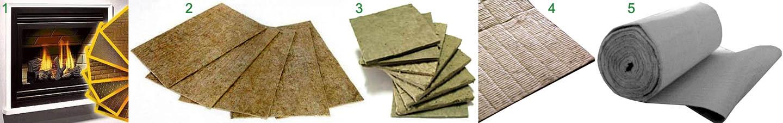 Листовые футеровочные материалы для печей