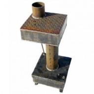 Печь на отработанном масле своими руками капельного типа: чертежи