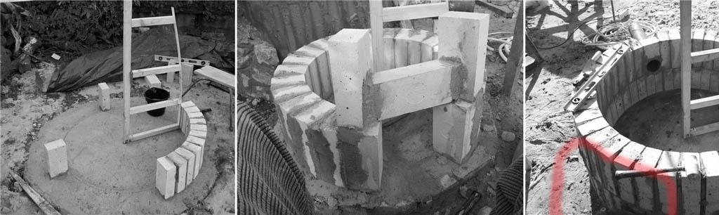 Строительство кирпичного тандыра