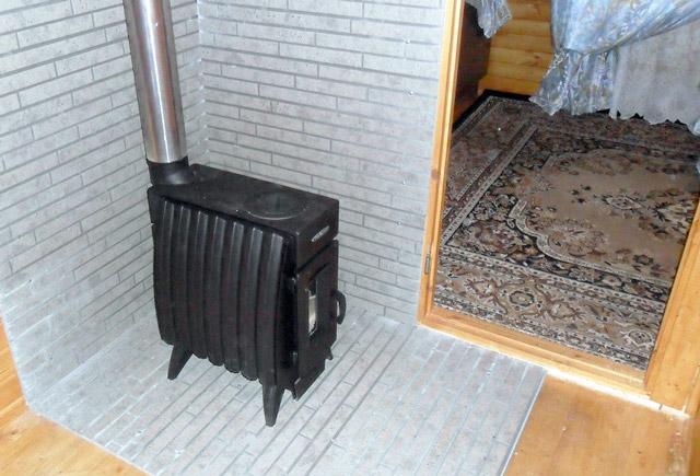 Железная и кирпичная печь для гаража купить гараж в орле северный район