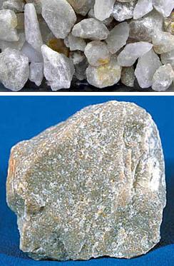 Поликристаллический кварц и кварцит