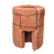 Маленькая кирпичная печка для дачи своими руками